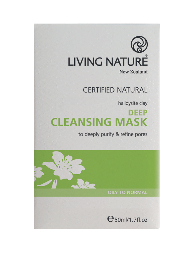 Natural Deep cleansing Mask with Halloysite clay & Manuka