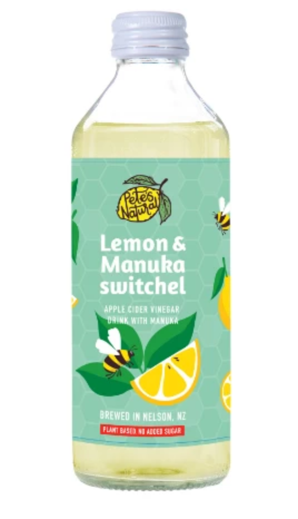 Lemon & Manuka Switchel