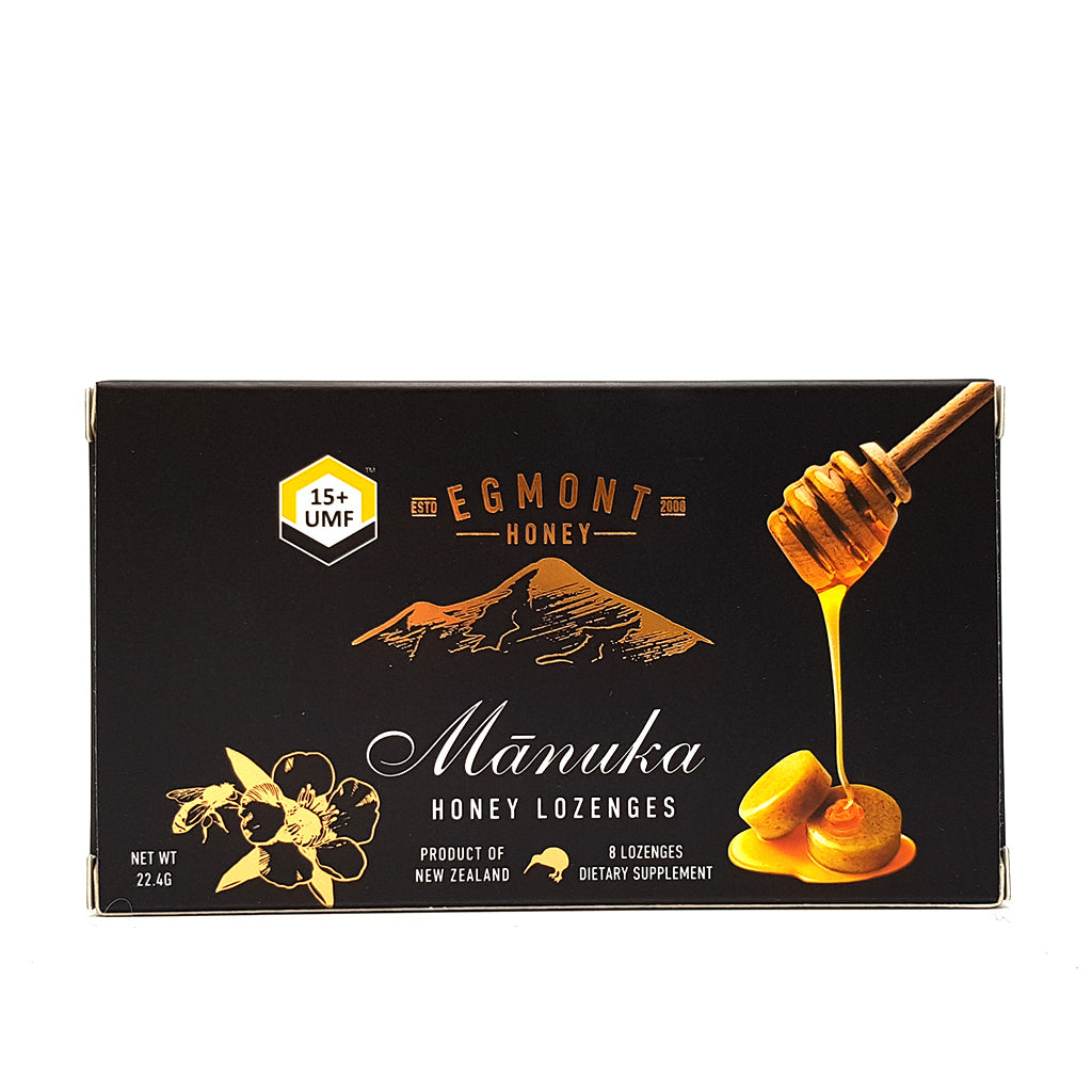 UMF 15+ Manuka Honey Lozenges - Health & Supplements | Egmont Honey
