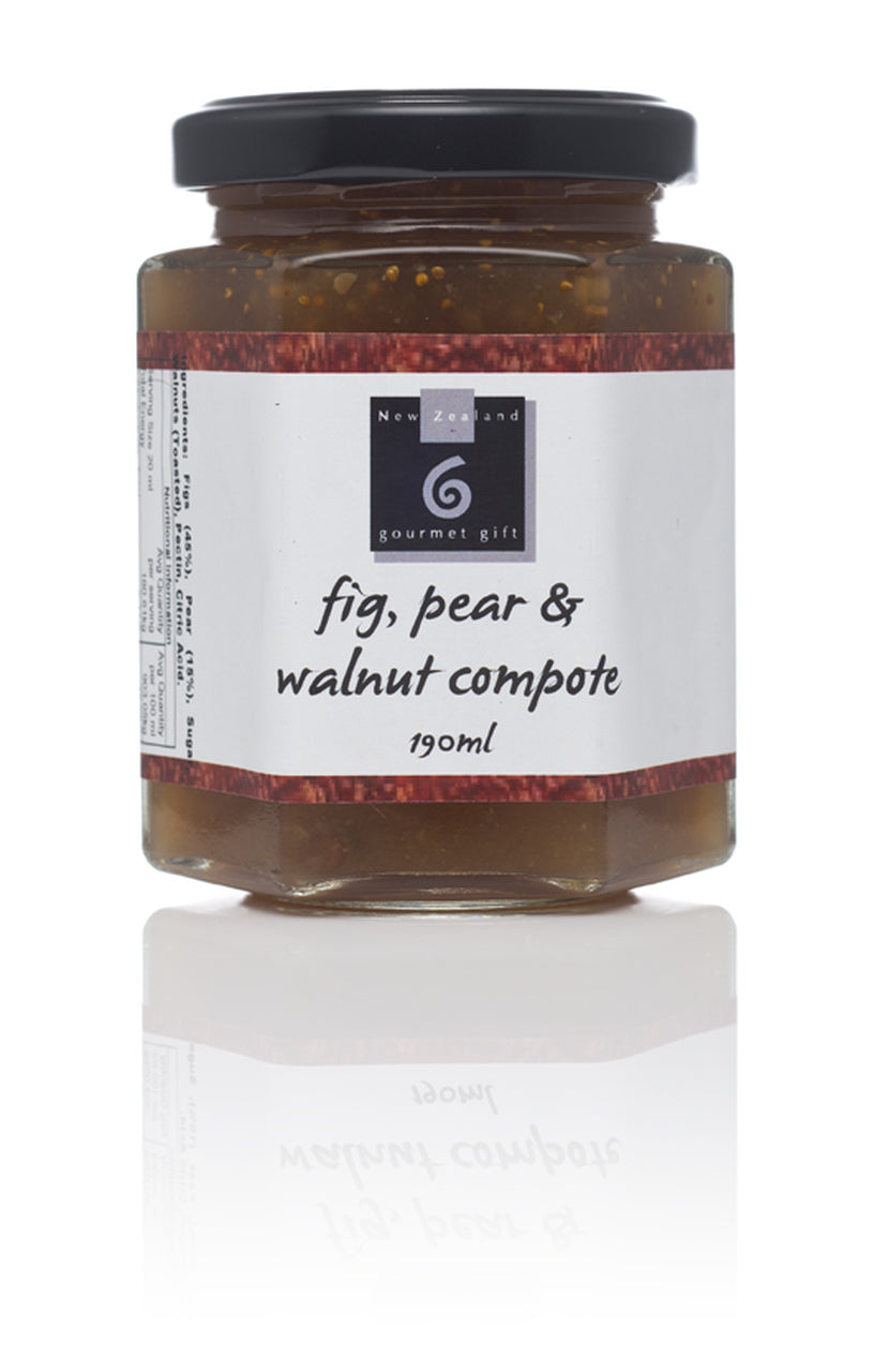 Fig, Pear & Walnut Compote - Food & Drink | NZ Gourmet Gift