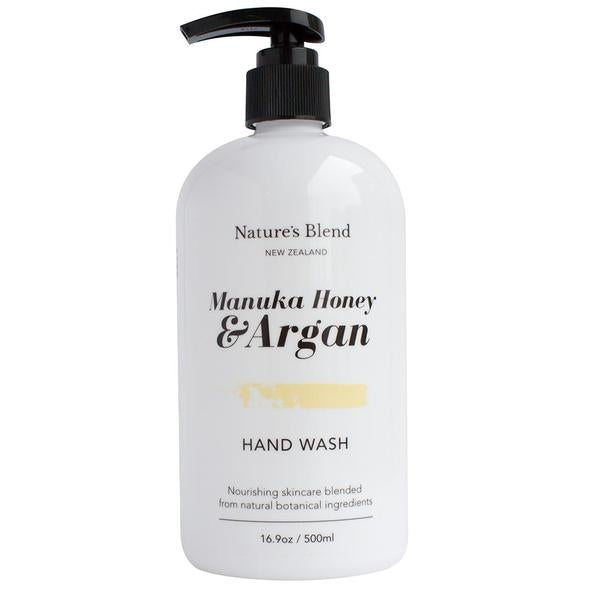 Manuka Honey & Argan Hand Wash - Face & Body | Nature's Blend