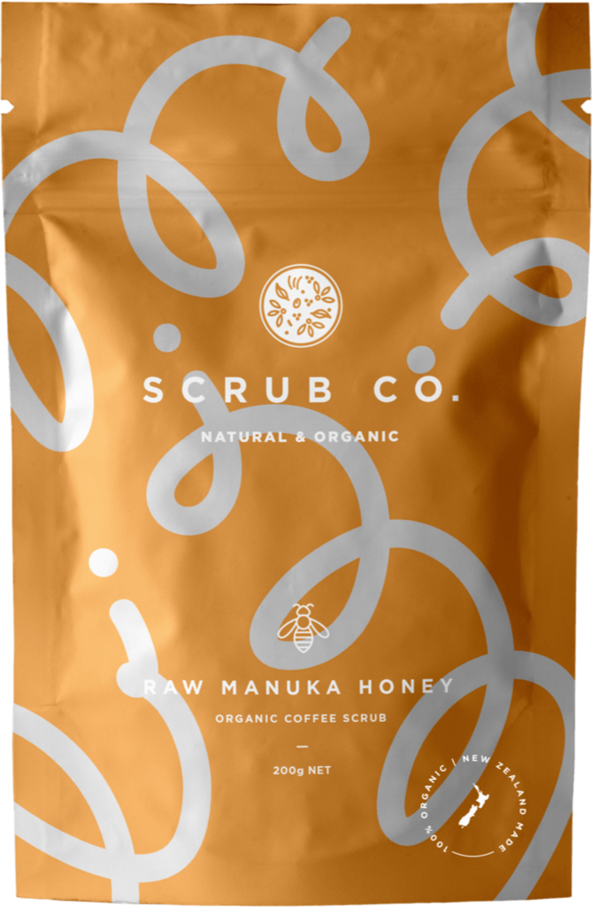 Raw Manuka Honey Coffee Scrub