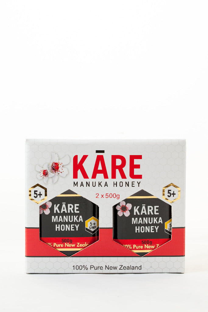 5+ UMF Manuka Honey Twin Pack - Manuka Honey | Kare
