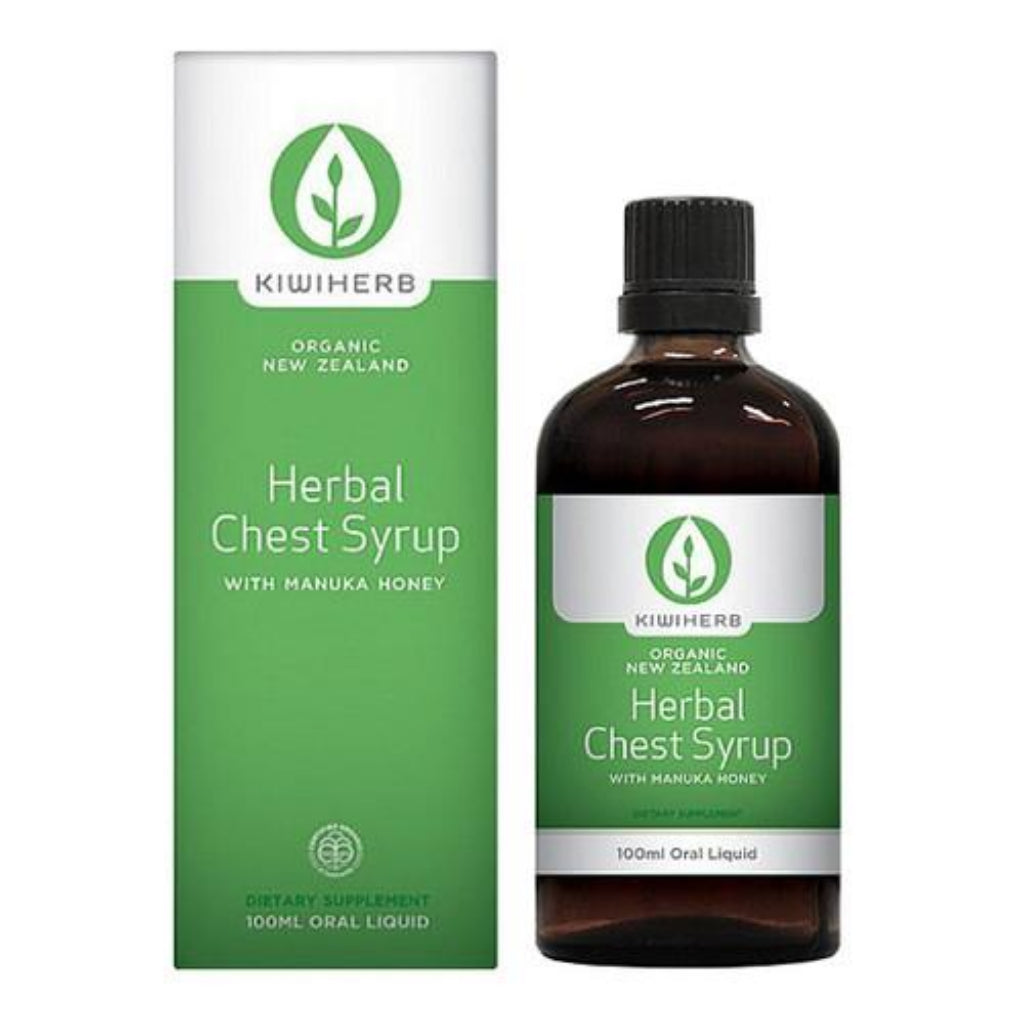 Herbal Chest Syrup - Health & Supplements | Kiwiherb