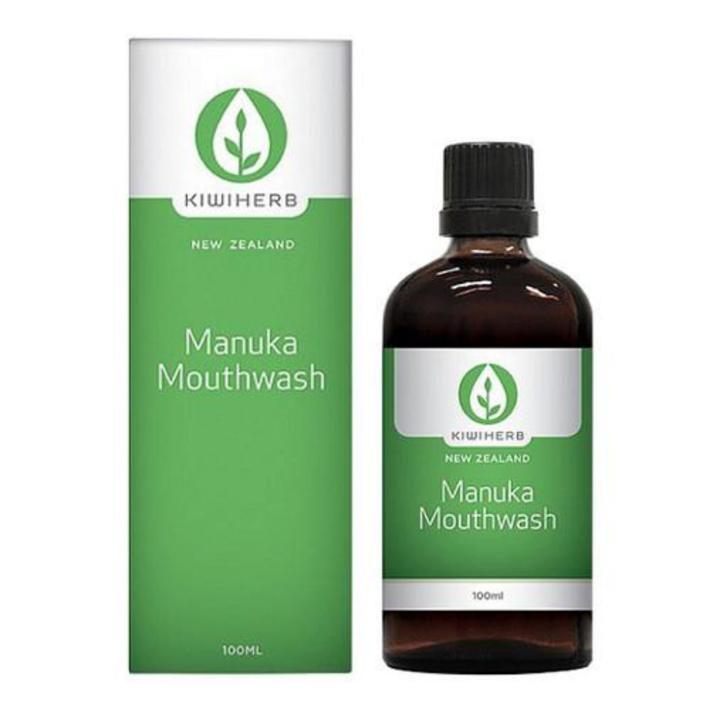 Manuka Mouthwash - Health & Supplements | Kiwiherb
