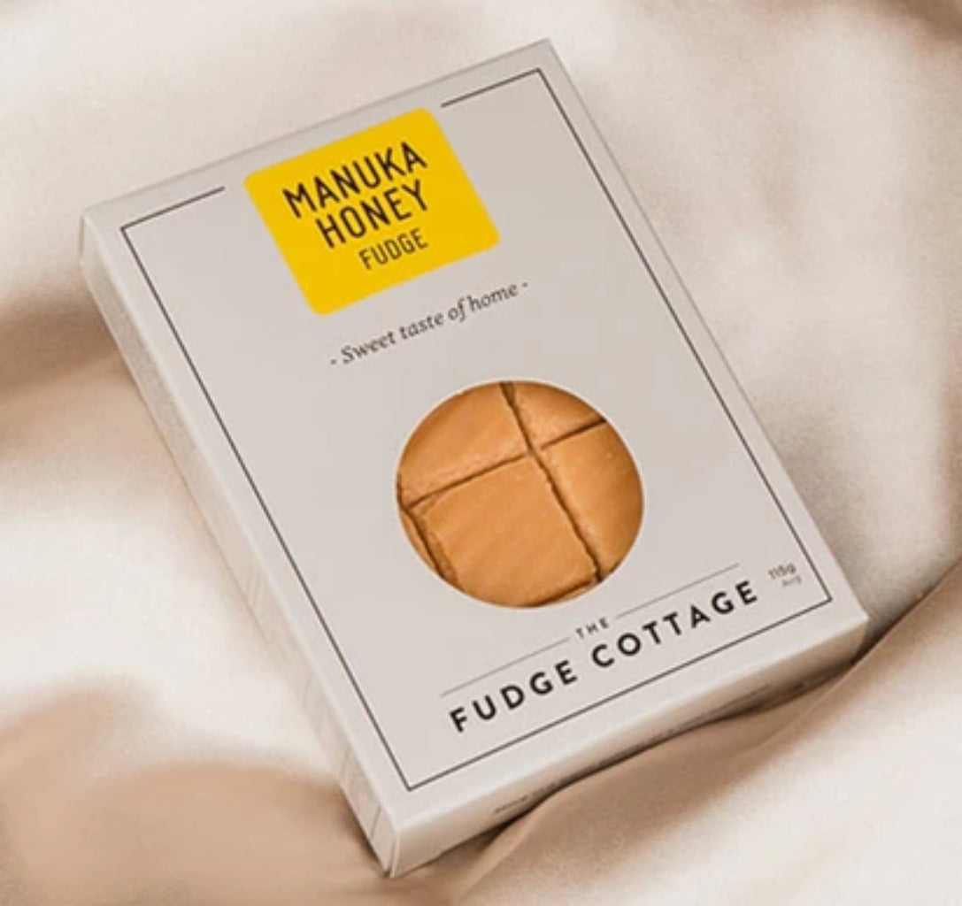 Manuka Honey Fudge - Food & Drink | The Fudge Cottage