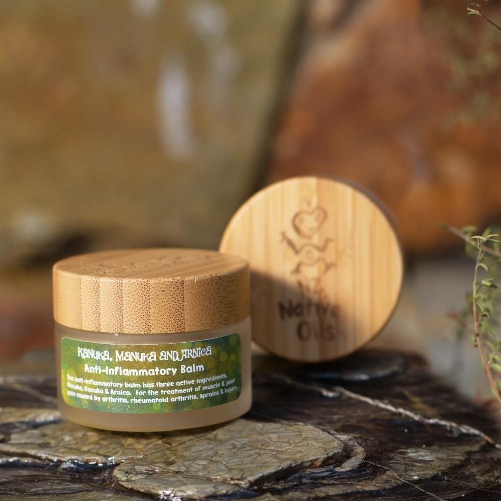 Manuka, Kanuka & Arnica Anti-Inflammatory Balm - Face & Body | NZ Native Oils