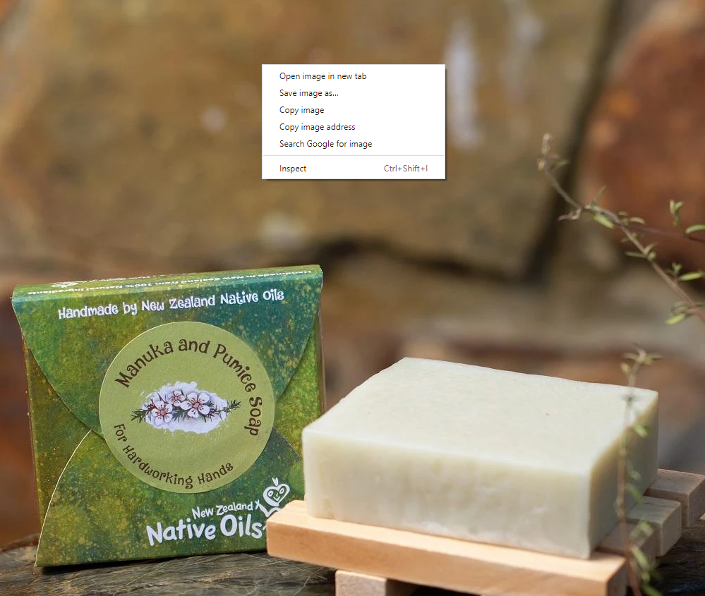 Pumice & Manuka Organic Soap - Face & Body | NZ Native Oils