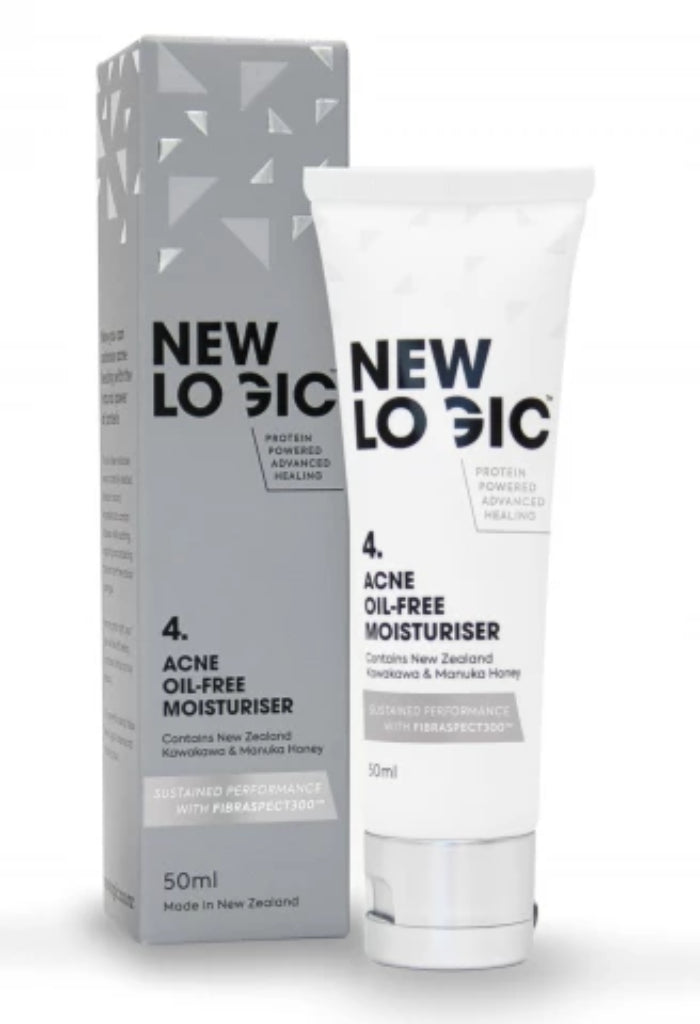 Acne Oil-Free Moisturiser - Face & Body | New Logic