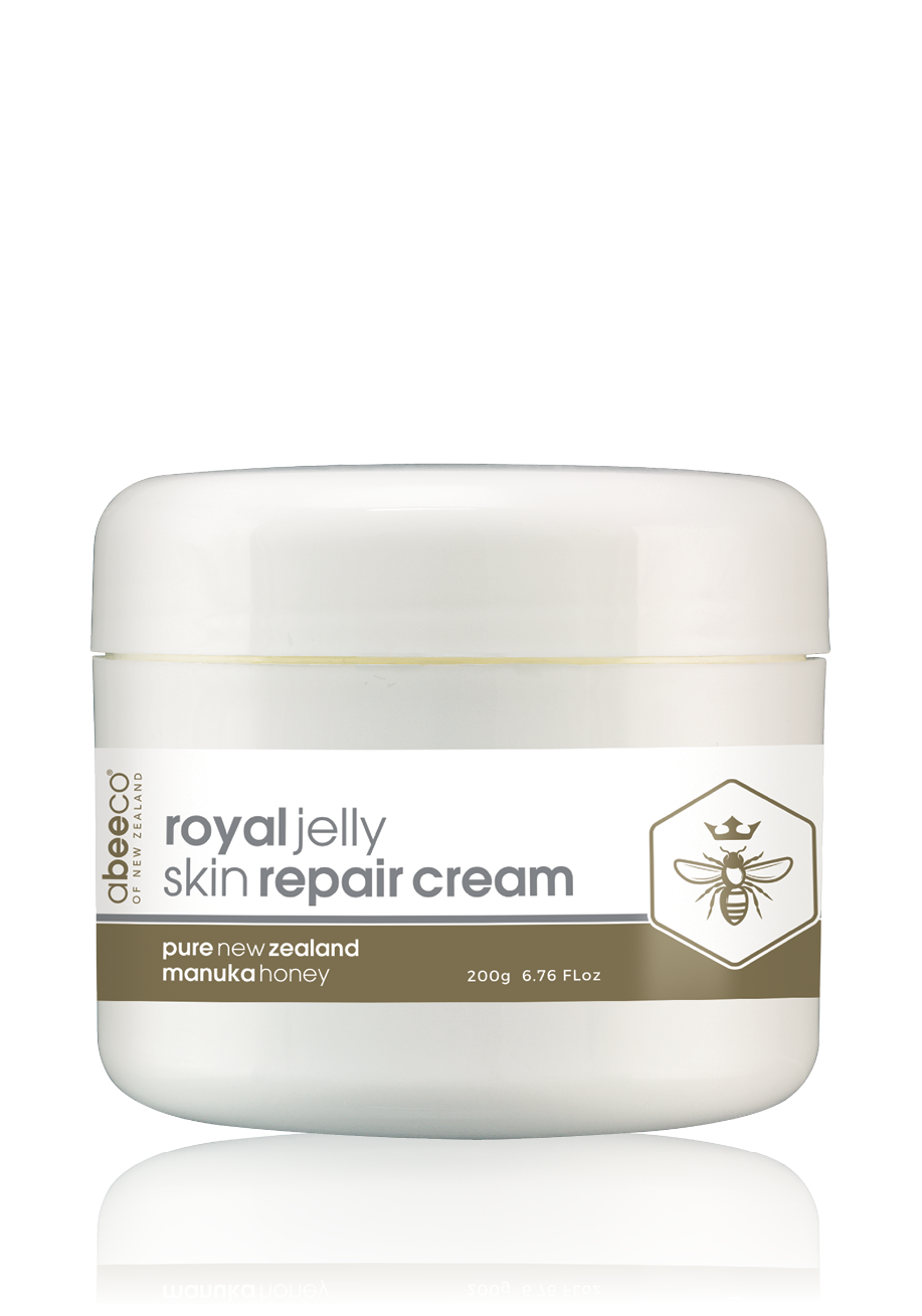 Manuka Honey & Royal Jelly Skin Repair Cream 200g - Face & Body | abeeco