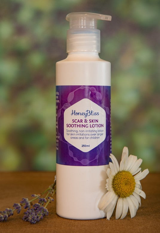 Scar & Skin Soothing Lotion - Face & Body | HoneyBliss