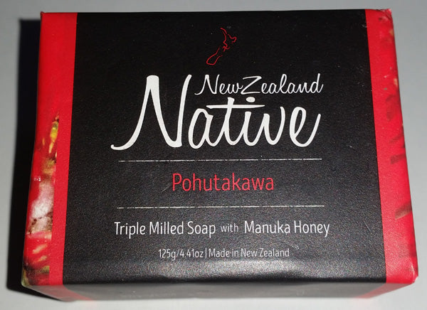 New Zealand Native Pohutakawa Soap - Face & Body | Papyrus Essential Luxuries
