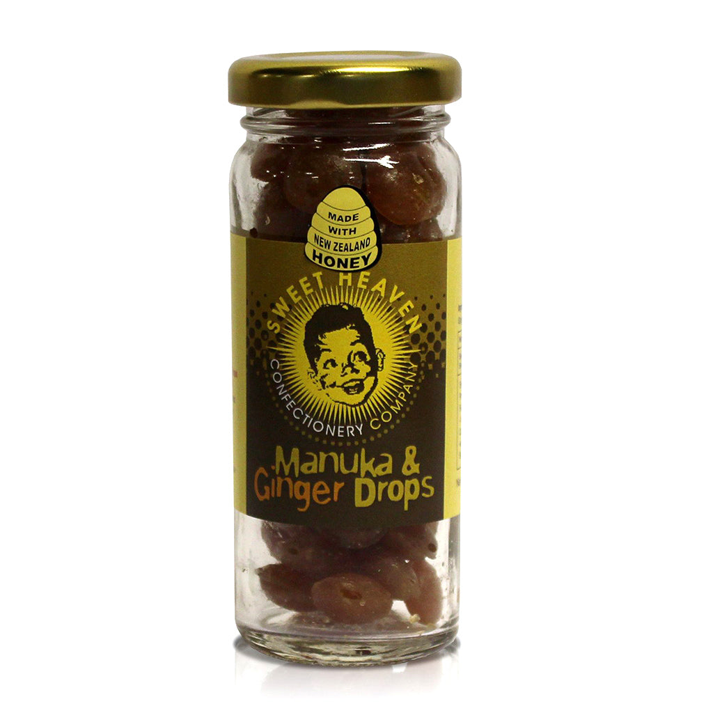 Manuka & Ginger Drops - Manuka Honey of NZ