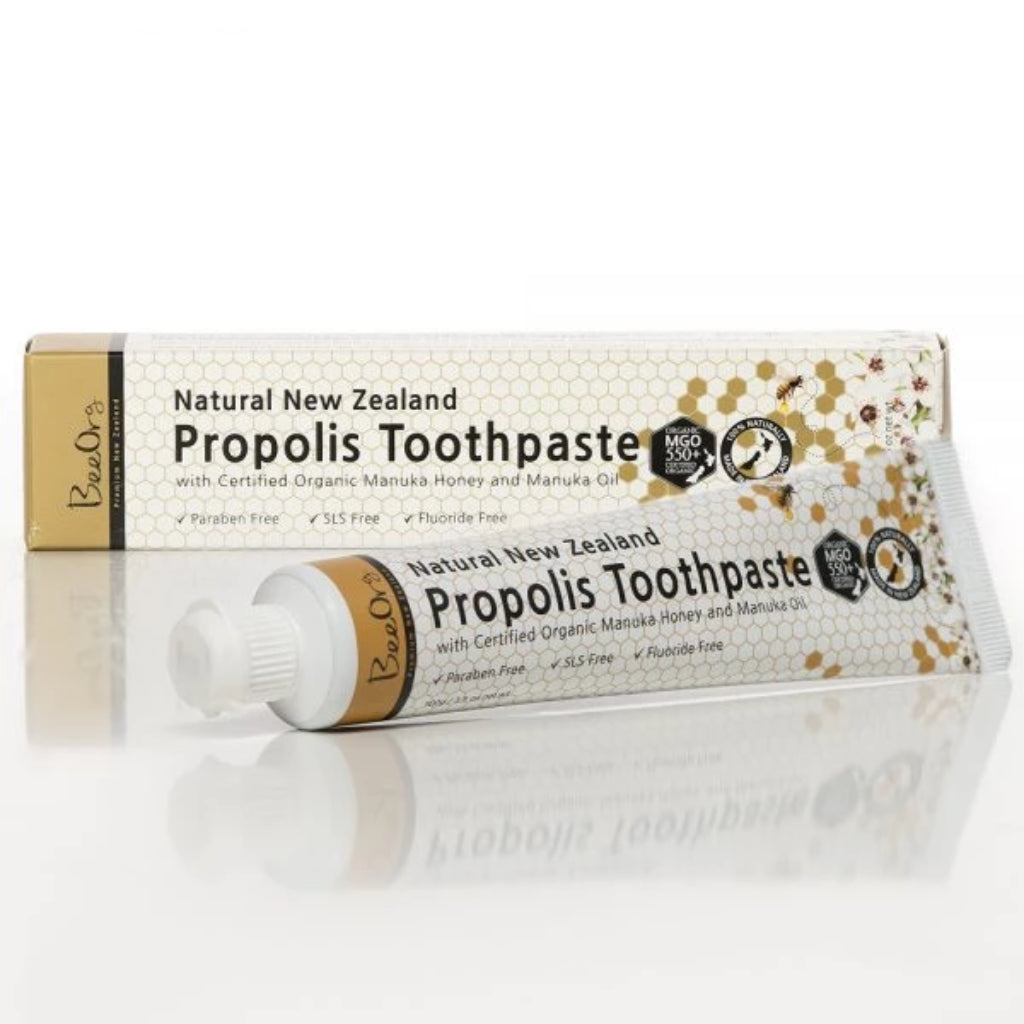 New Zealand Propolis Toothpaste - Health & Supplements | BeeOrg