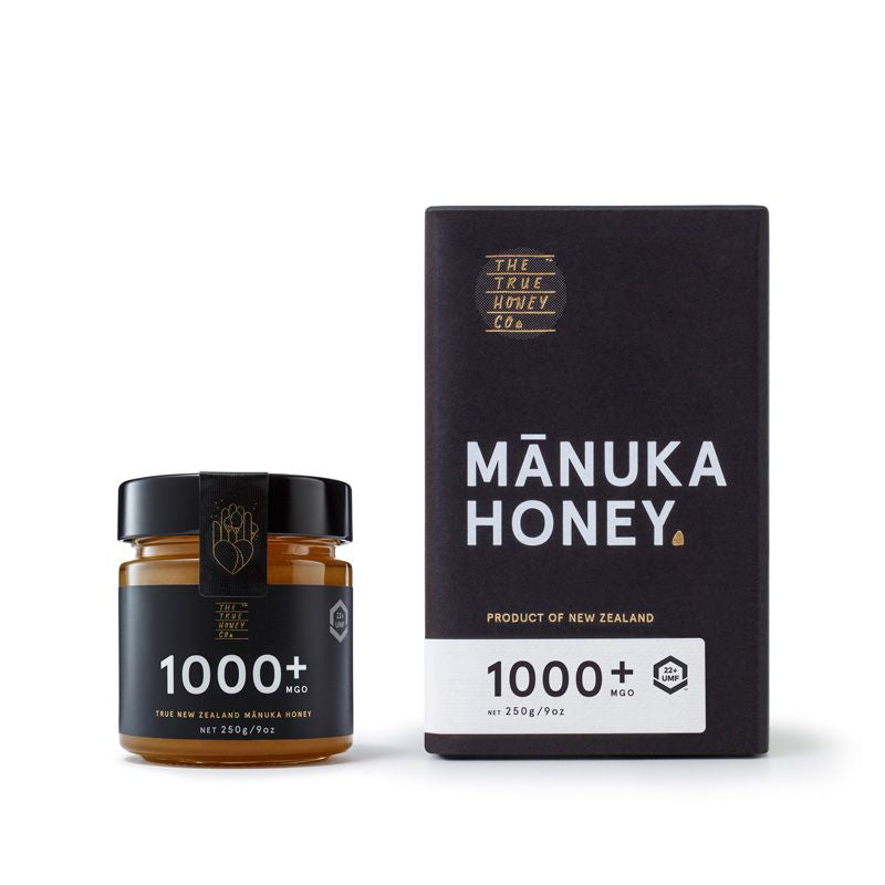1000+ MGO Manuka Honey (UMF 22+) - Manuka Honey | The True Honey Co.