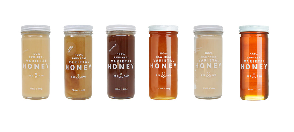 Bee Raw Honey Pairings