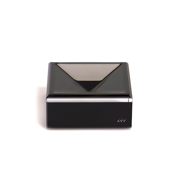 Acrylic Square Mini Bowl - Black