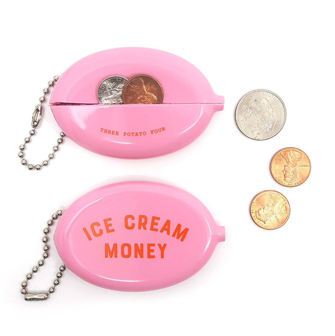Ice Cream Money Coin Pouch