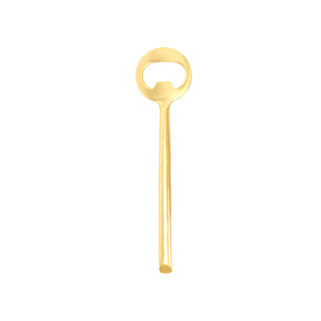 Matte Gold Bottle Opener