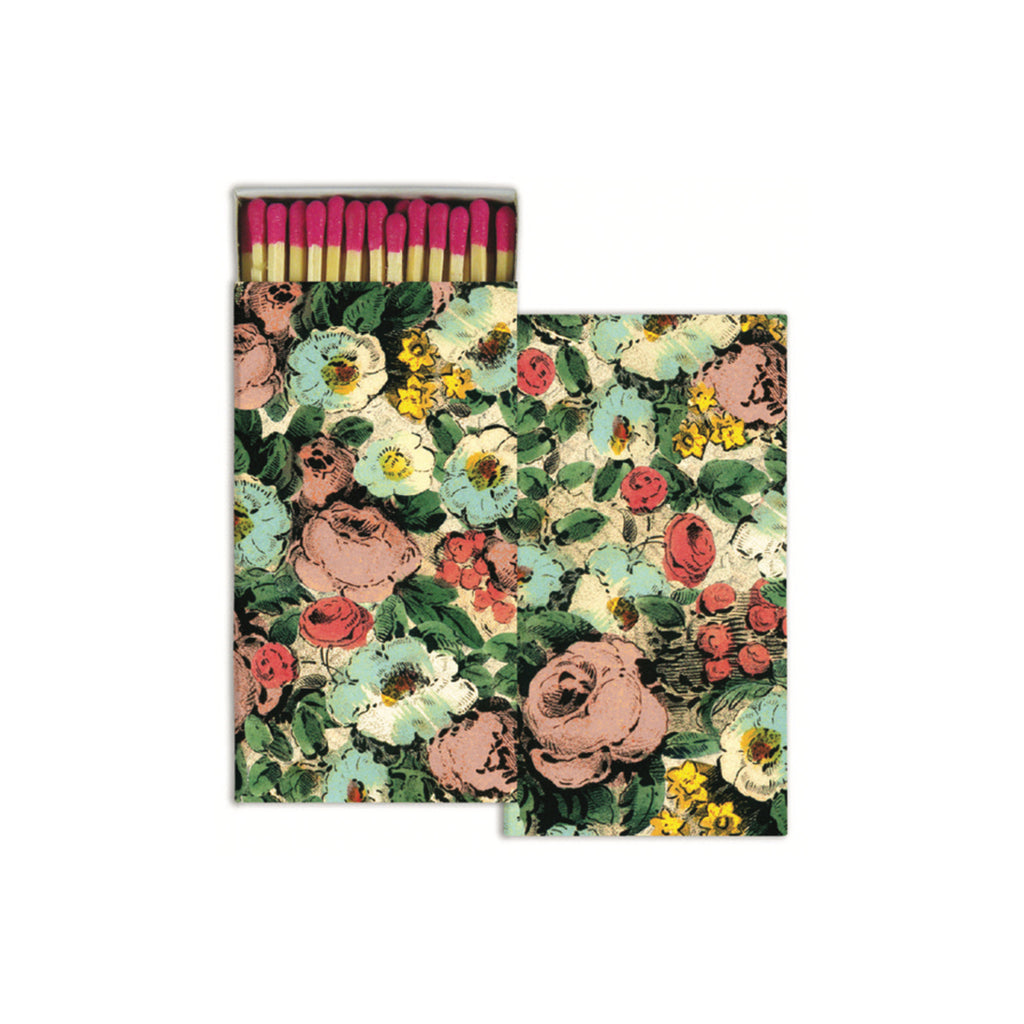 John Derian Matches - Floral Collage