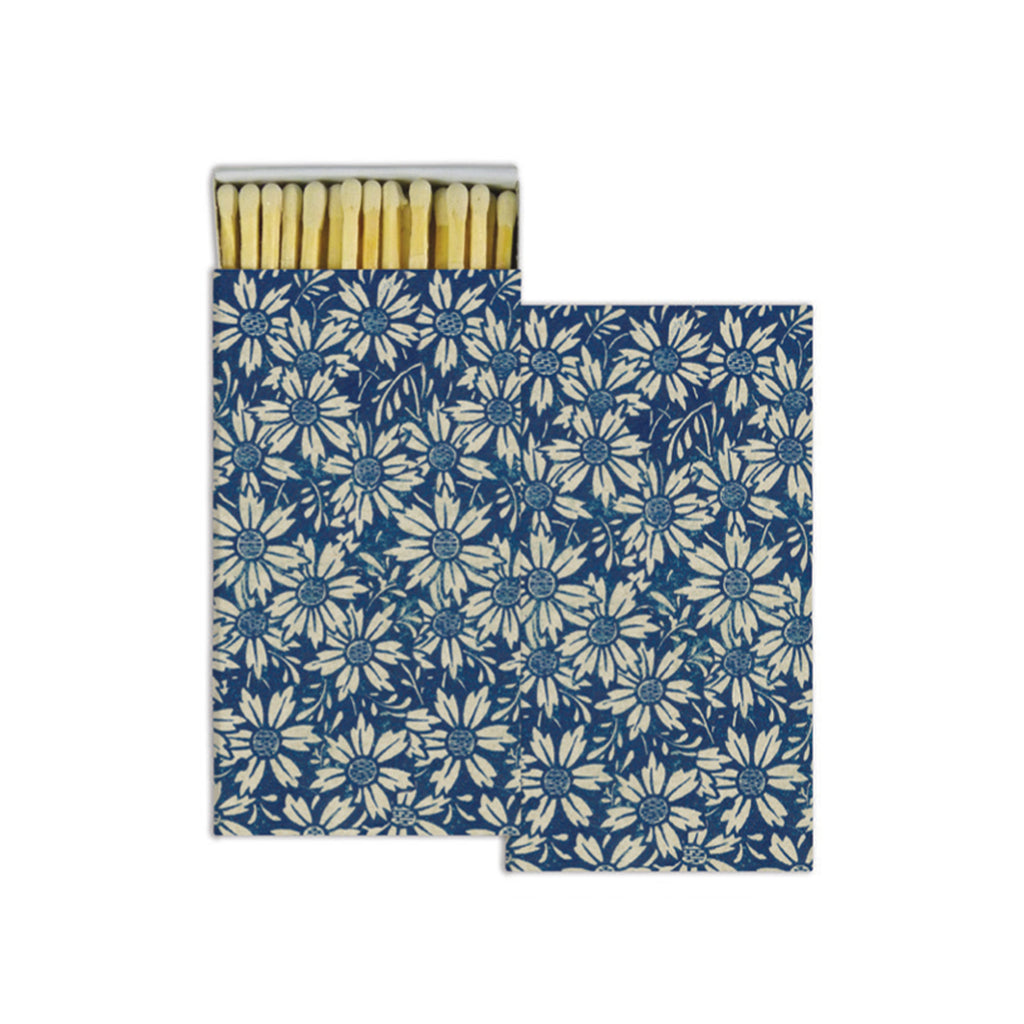 John Derian Matches - Blue Daisies