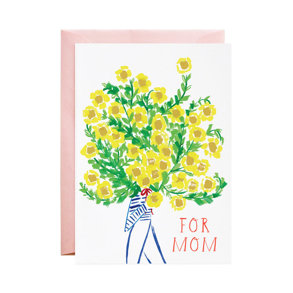 The Biggest Bouquet for Mom Card