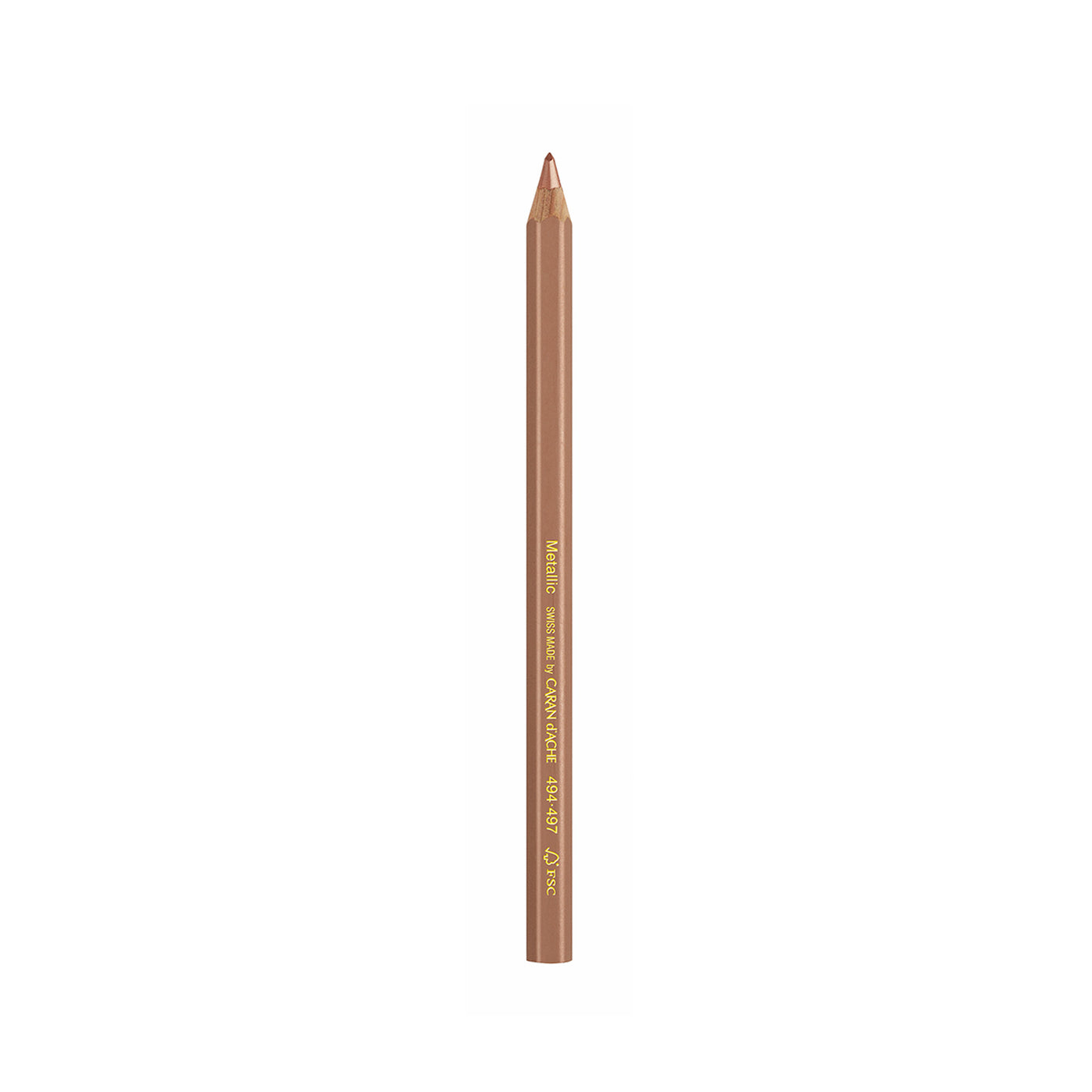 Maxi Metallic Colored Pencil - Bronze