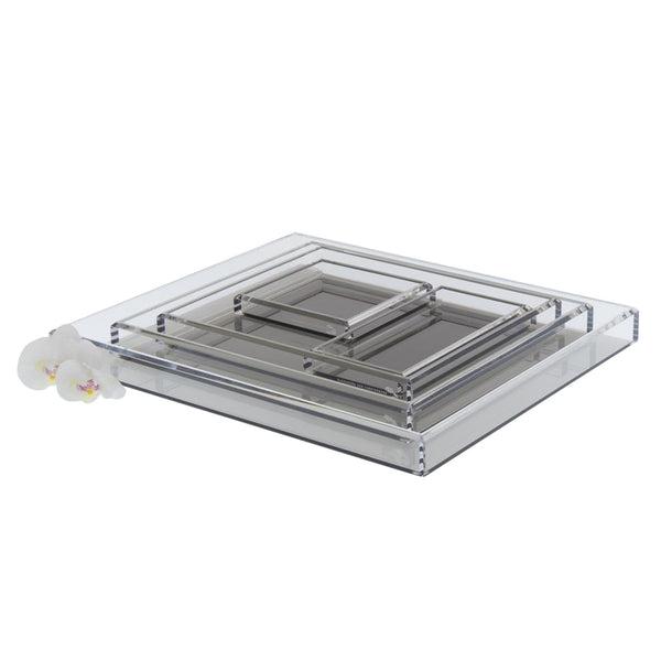 Bronze Acrylic Tray - Medium