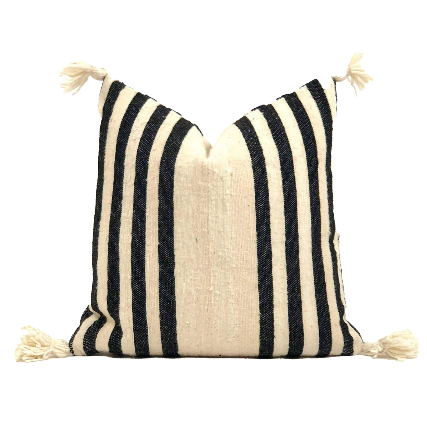 Moroccan Wool Throw Pillow - Brug