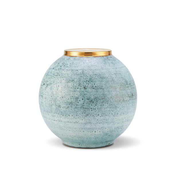 Calinda Blue Grotto Vase - Round