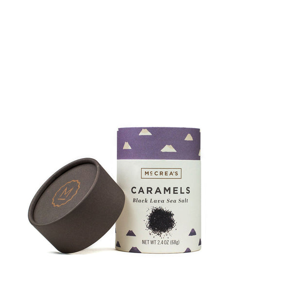 Black Lava Sea Salt Caramels - Small