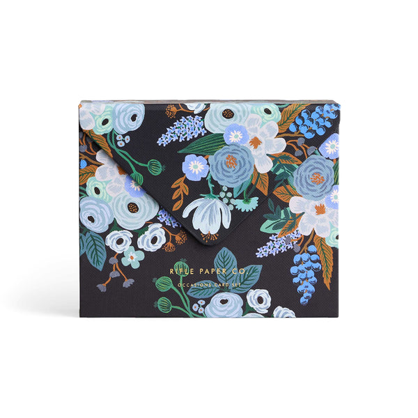 Garden Party Blue Card Set
