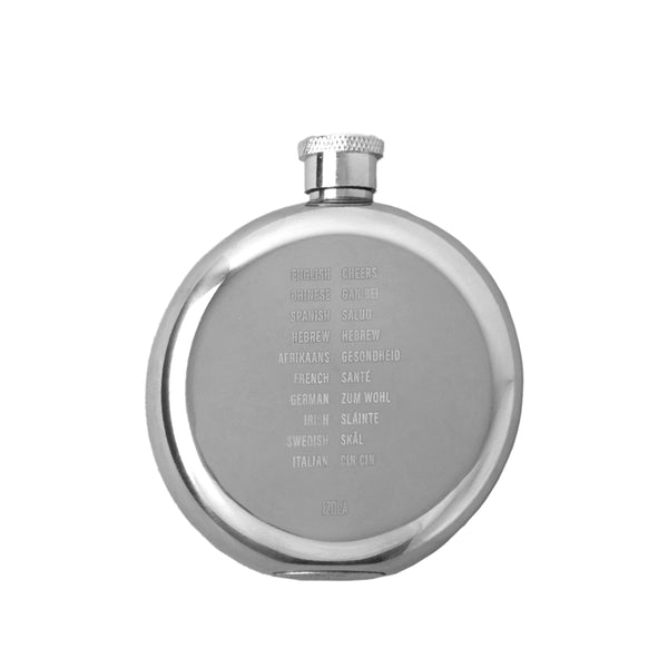 Stainless Steal Hip Flask - Cheers