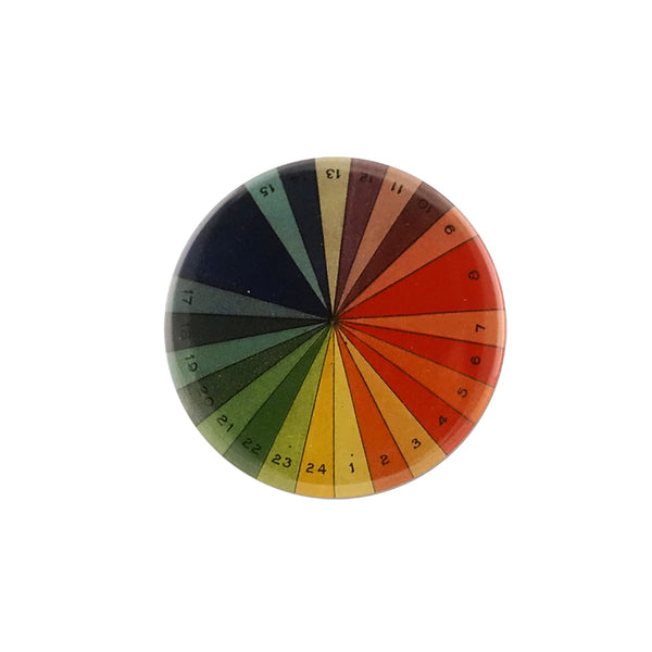 Button Mirror - Color Spectrum