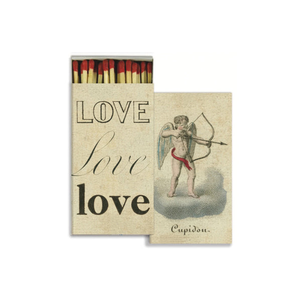 John Derian Matches - Cupid & Love