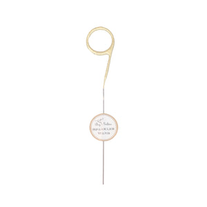 Large Golden Number Sparkler - 9
