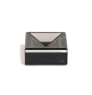 Acrylic Square Mini Bowl - Slate Grey