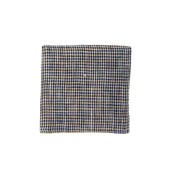 Linen Coaster - Houndtooth Check