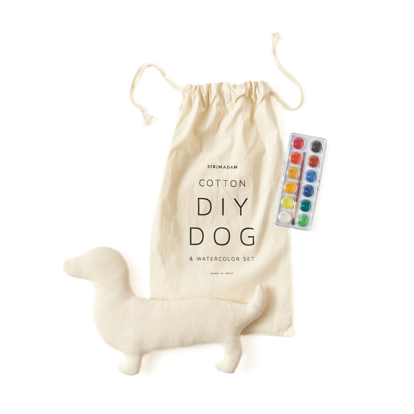 Dog & Watercolor Set