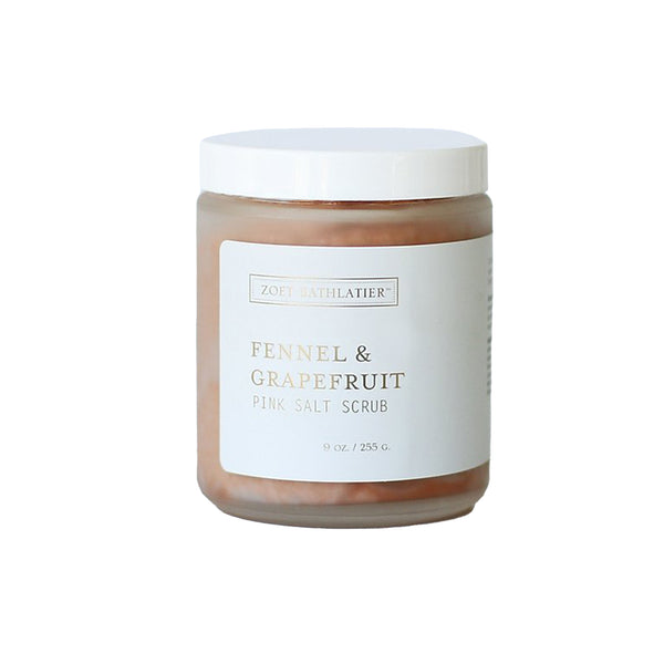 Fennel & Grapefruit Pink Salt Scrub