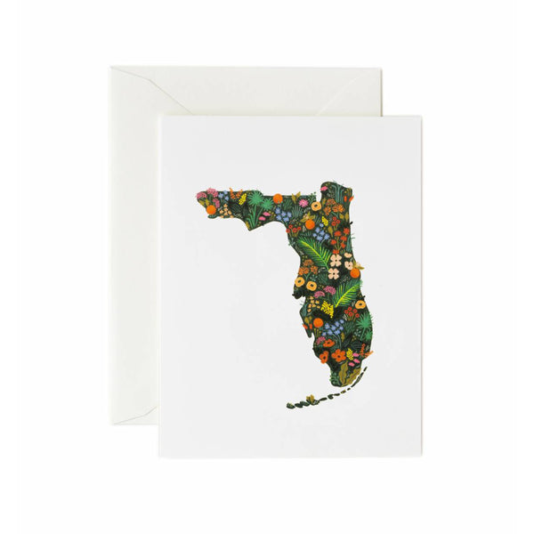 Florida Wildflowers Card