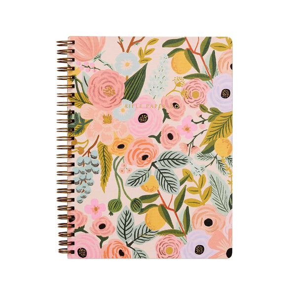Garden Party Pastel Spiral Notebook