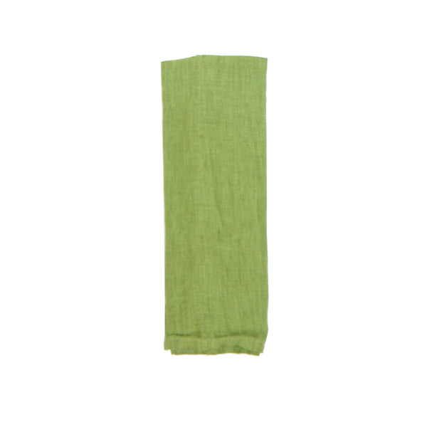 Washed Linen Napkin - Grass