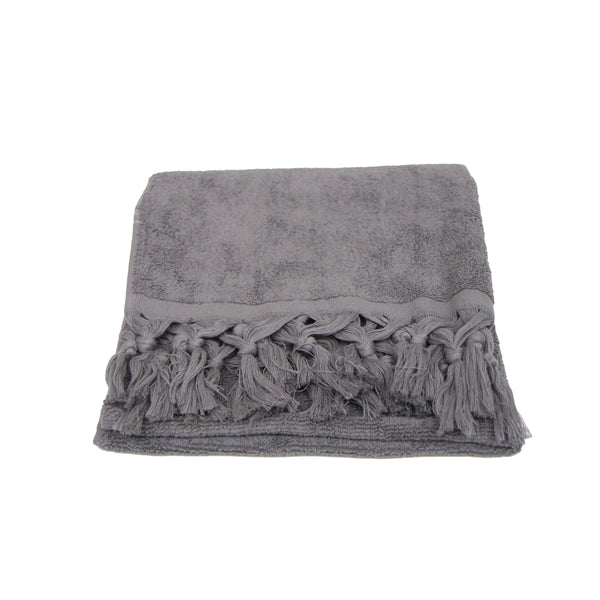 Guest Towel - Grey Terry