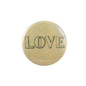Button Mirror - Love