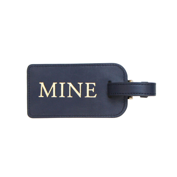 Mine Luggage Tag - Navy