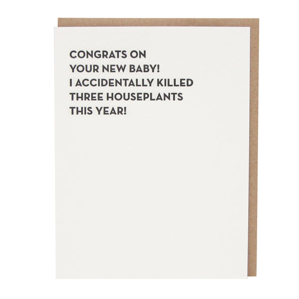 Congrats on Your New Baby! Card