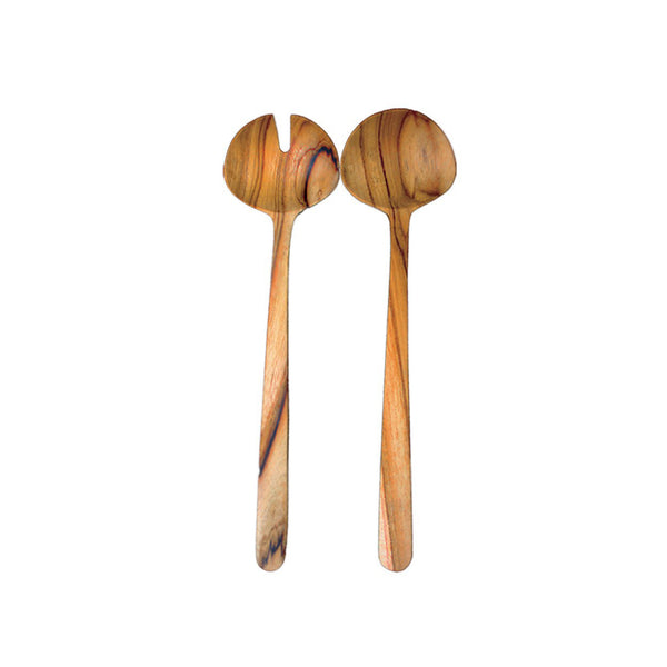 Teak Oval Serving Set