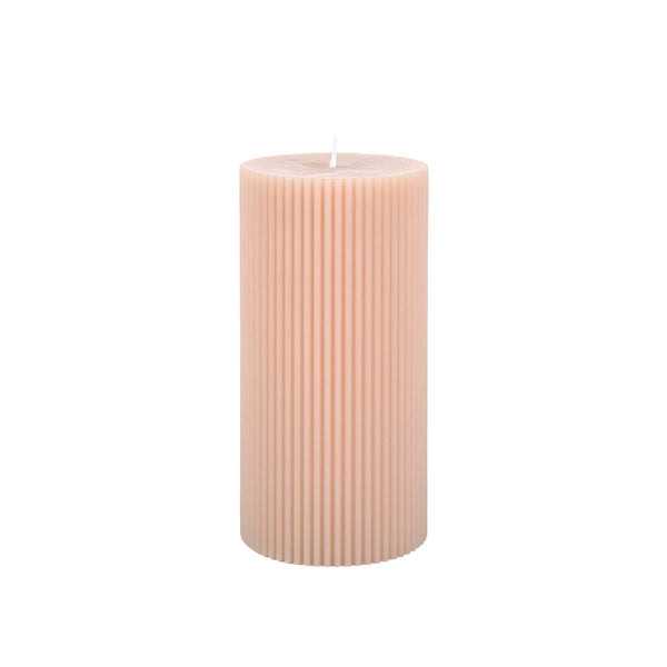 Fancy Pillar Candle - Petal