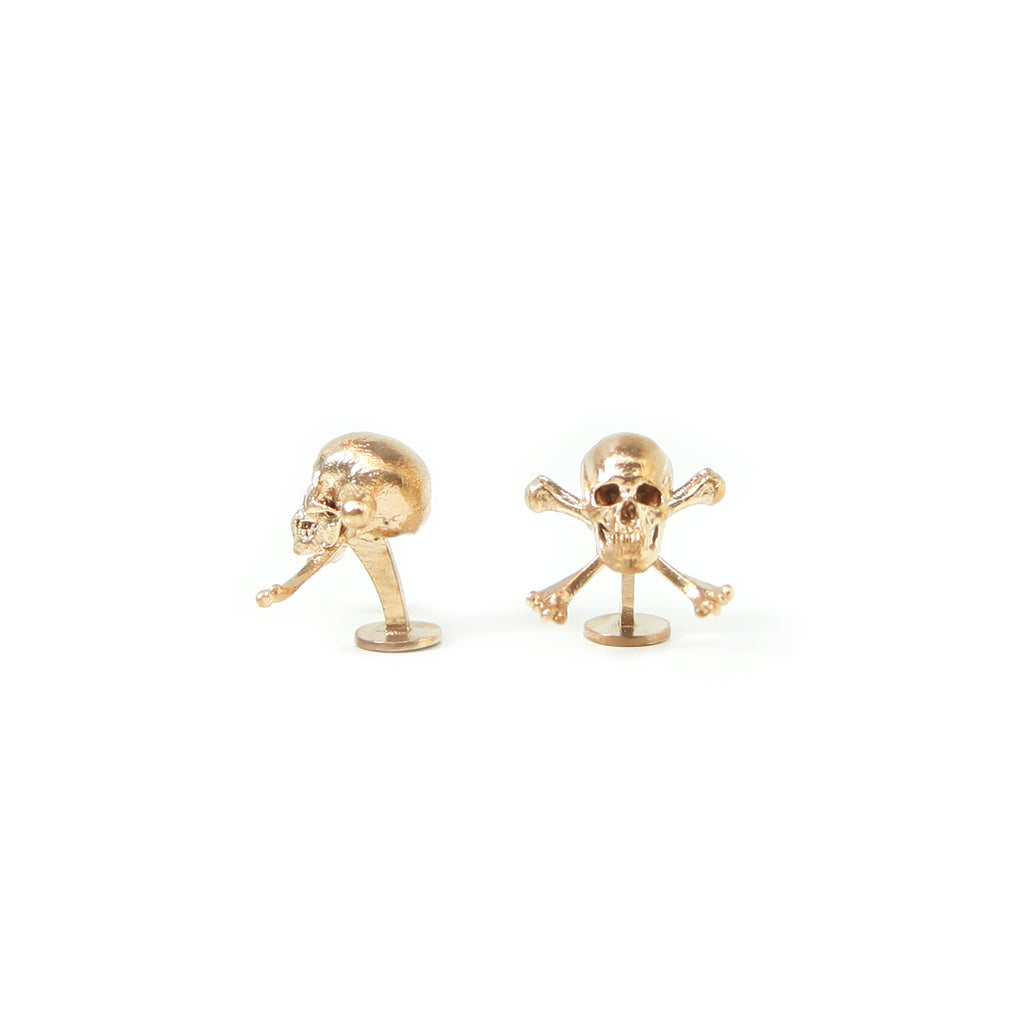 Bronze Pirate Cufflinks